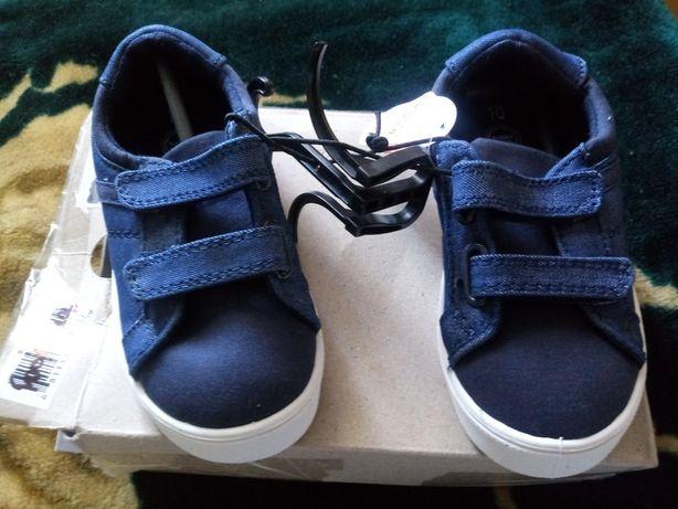Джинсовые кроссовки для мальчика 10 р. , стелька 17.7 см