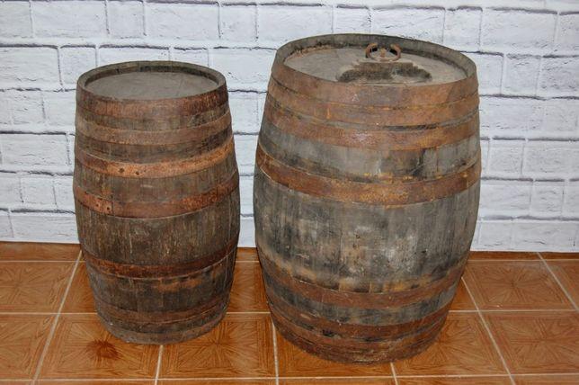 Barris antigos em carvalho e castanho
