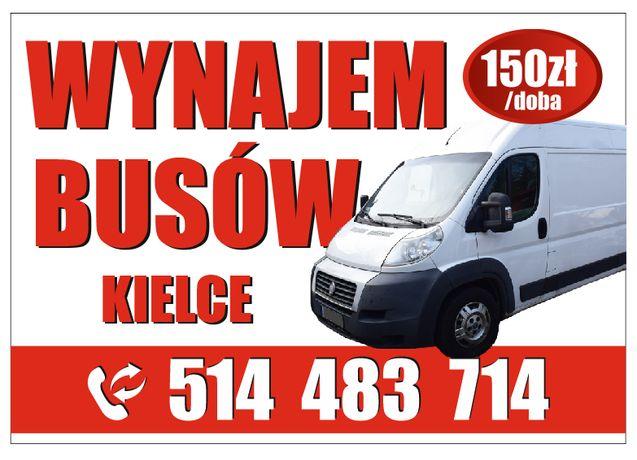 Wynajem busów Kielce od 25zł , busa, VW LT, Sprinter, Fiat Ducato
