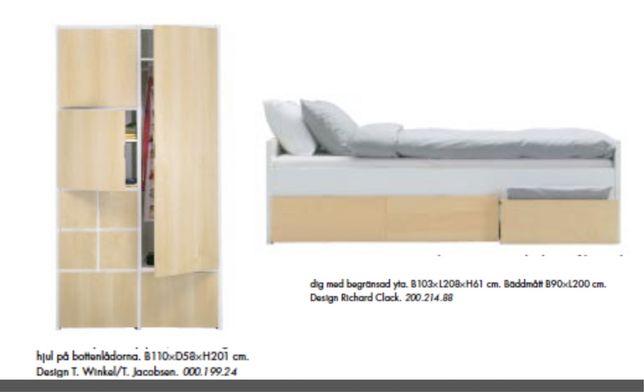 Roupeiro e cama IKEA edição limitada