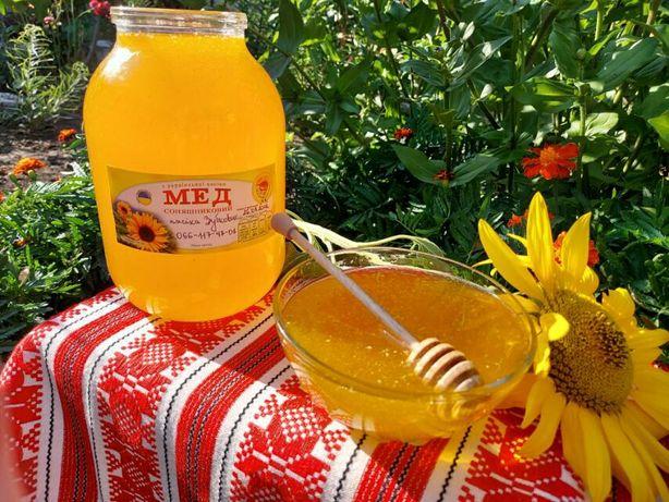 Продам мёд со своей пасеки.