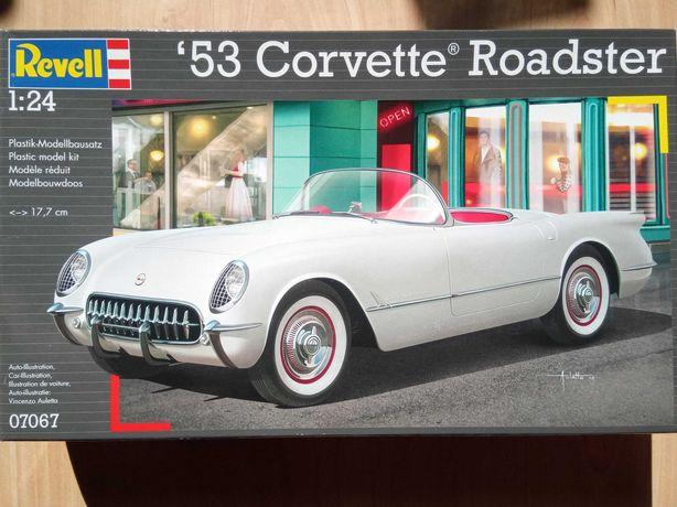 Revell 07067 - '53 Corvette Roadster - 1/24 - Model do sklejania