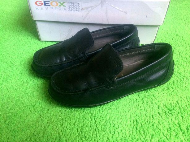 Кожаные мокасины (туфли) Geox размер 32