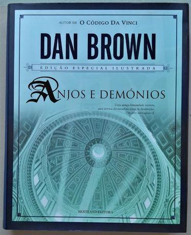 """""""Anjos e Demónios"""" Edição Especial ilustrada-Dan Brown"""