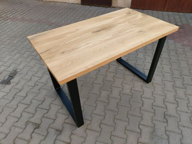 Stół loftowy dębowy