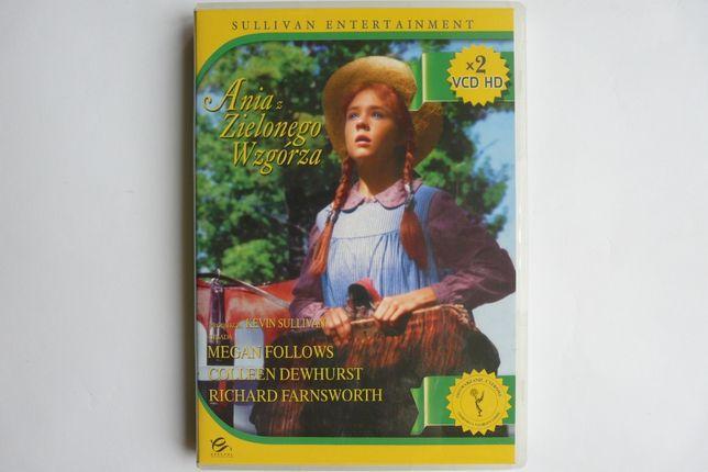 Ania z Zielonego Wzgórza - film 2 x VCD HD - DVD