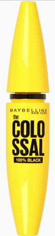 MAYBELLINE New York ColoSsal 100% Black NOWY