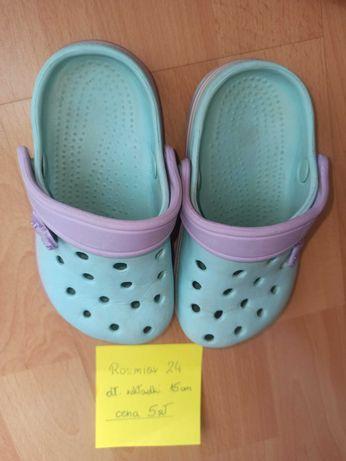 Buty dziewczęce Crocs rozmiar 24