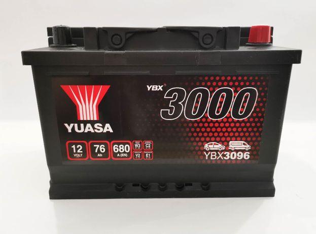 Akumulator YUASA YBX3096 76Ah 680A + GRATIS! NAJNIŻSZA cena
