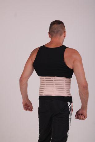 бандаж для спины корсет мужской и женский корректирующий пояс есть опт