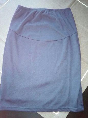 Spódnica granatowa ciazowa xl/l