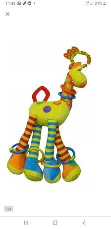Żyrafa maskotka zawieszka gryzak