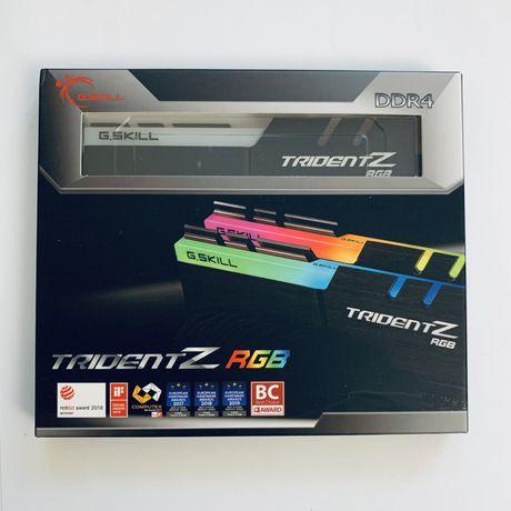 DDR4 G.SKILL Trident Z RGB 32GB (2x16GB) F4-3600C16D-32GTZRC