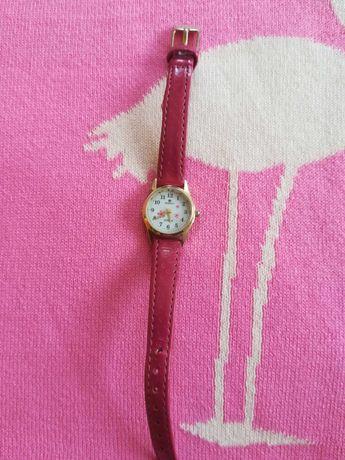 Piękny zegarek dla dziewczynki kolor róż