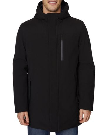 Парка демисезонная Elie Tahari Long Sleeve Hooded Commuter Jacket