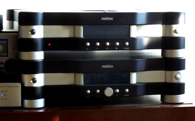 Wzmacniacz REVOX E-450 + REVOX EXCEPTION E-426 Odtwarzacz CD