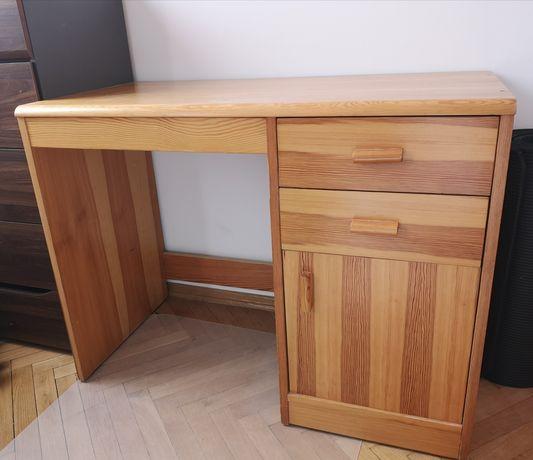 Biurko drewniane 100x50