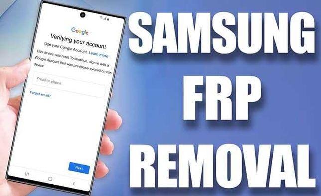 Usuwanie blokady Konto Google Samsung