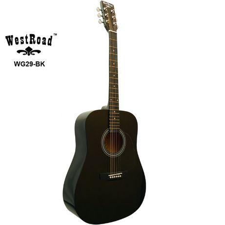 Gitara akustyczna WestRoad WG-29BLK + pokrowiec