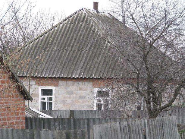 Продам дом сарай погреб в Печенежском р-не с Новый Бурлук ставок 3 км.