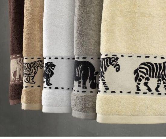 Ręcznik MALUNG 50x100 beżowy KRONBORG 50x100 3 szt