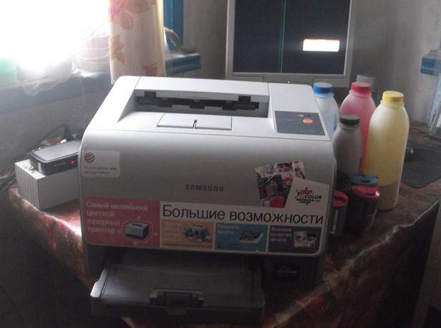 лазерный цветной принтер
