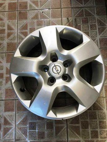 4 Jantes + 4 Tampões Opel Astra H 16