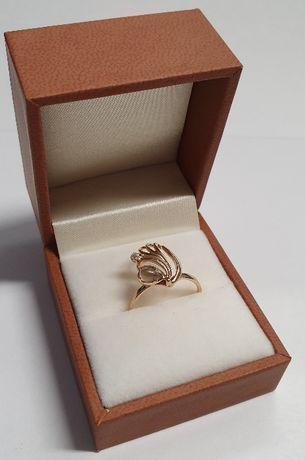 Wyrób jubilerski używany - złoty pierścionek 585/r13