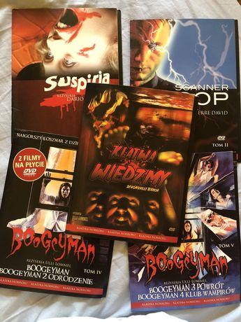 34 horrory dvd suspiria hellraiser masters of horror blair witch