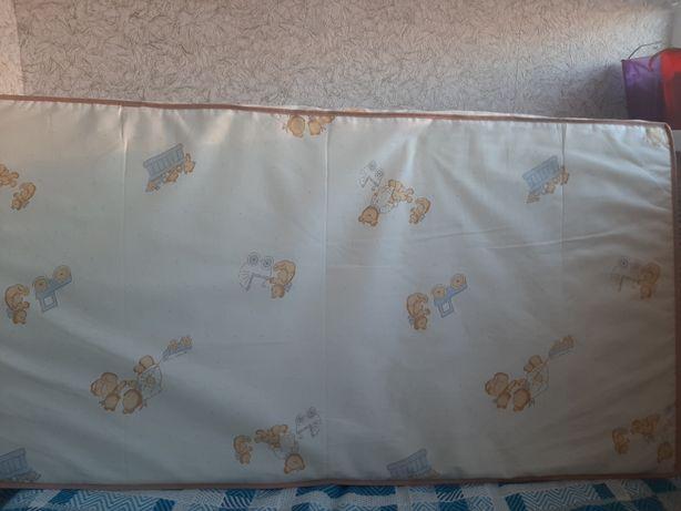 Матрас, матрац в детскую  кроватку детский спальный мешок, одеяло