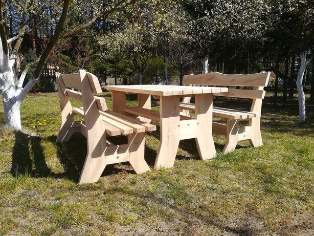 Zestaw nowych mebli ogrodowych