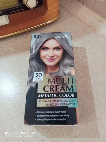 Farba do włosów Joanna MULTI CREAM srebrny blond 32,5