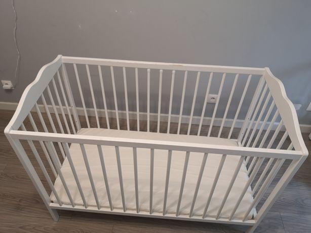 Łóżeczko niemowlęce 60x120 białe