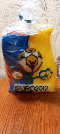 Сувенирная свеча ЕВРО 2012 (ФЛАГИ)