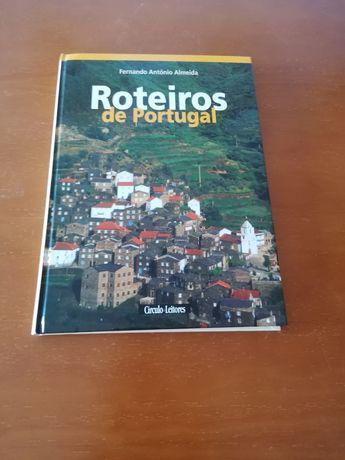 Livro roteiros de Portugal