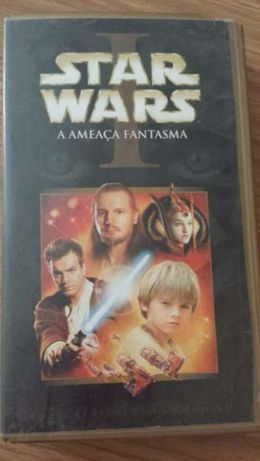 Cassetes de vídeo - Star Wars I - A ameaça fantasma