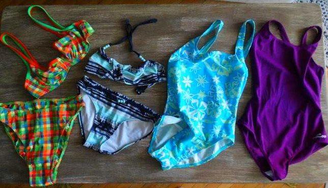Strój kąpielowy bikini Triumph- komplet 4 szt. stan b, dobry 2 nowe