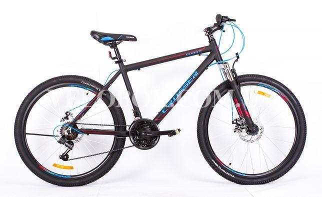 НОВЫЙ велосипед горный Crosser Sport 26 алюминий ГАРАНТИЯ Comanche