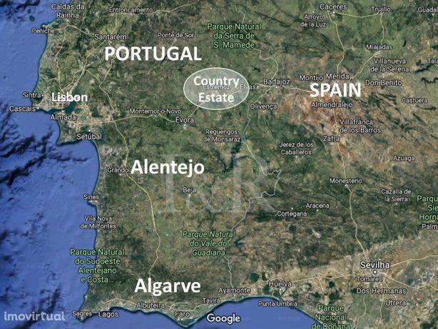 Herdade no Alentejo | 57 hectares | 10.140 m² área de const.