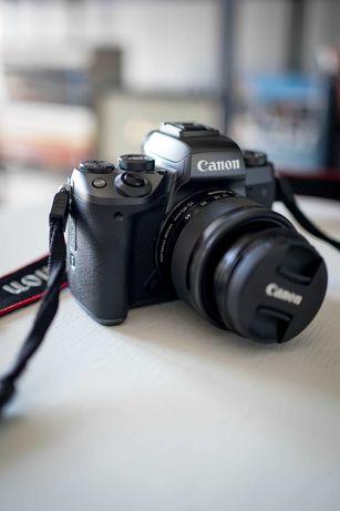 Câmara boa para principiantes e vloggers: Canon M5 M50. Óptimo preço!
