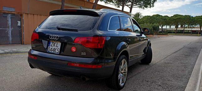 Audi Q7, 3.6 FSI, benzyna + gaz . Świetny stan!