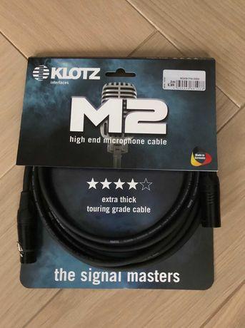 Kabel mikrofonowy  KLOTZ M2 XLR dł. 3m