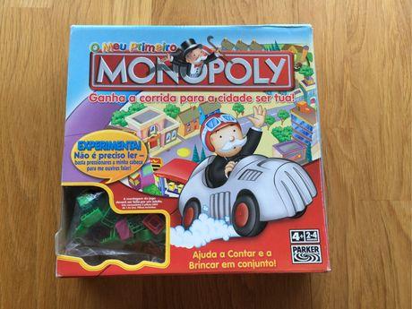 O meu primeiro Monopoly , Jogo Tabuleiro Monopolio