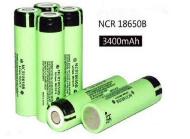 Аккумулятор без защиты Panasonic NCR18650B 3400 mAh 18650 Li-ion 8А