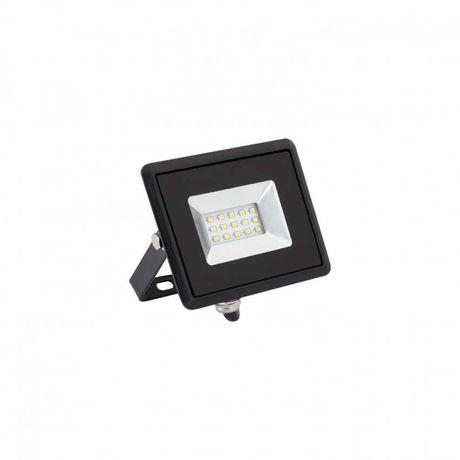Projector LED Slim 10W 220VAC Branco Frio 6000K IP65 novos