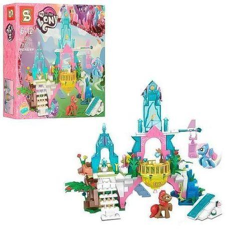 """Хит! Конструктор My Little Pony """"Хрустальный замок пони. 359 дет. 1096"""