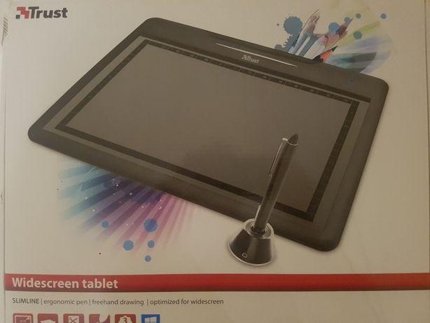 Widescreen tablet. Trust