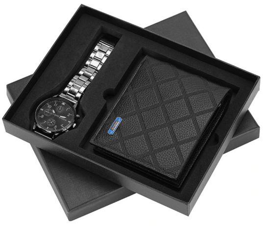 # Zestaw upominkowy - Portfel i zegarek # PREZENT na Dzień Dziadka #