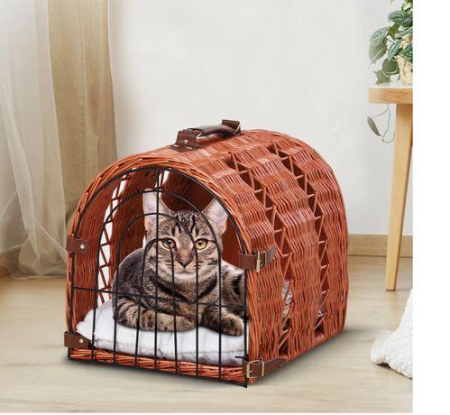 Transporter dla kota,psa, łózko,kosz,domek nowy