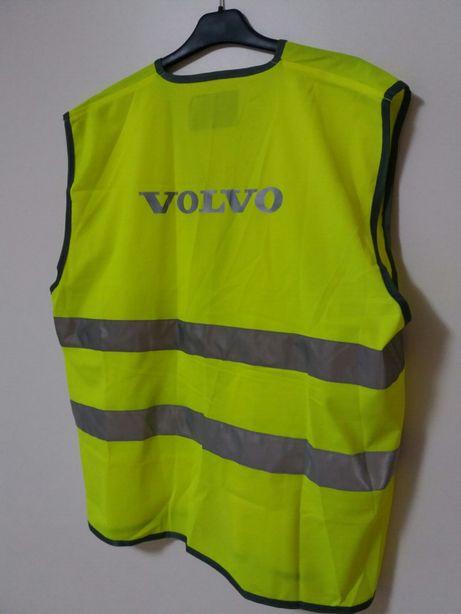 Colete refletor amarelo (Volvo)